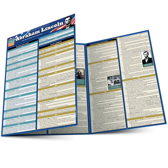 QuickStudy | Abraham Lincoln Laminated Study Guide