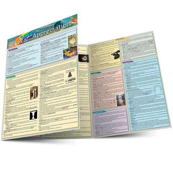 Quick Study QuickStudy Art Appreciation Laminated Study Guide BarCharts Publishing Arts Study Guide Main Image