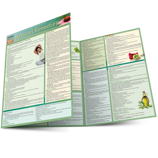 QuickStudy   Natural Remedies Laminated Reference Guide
