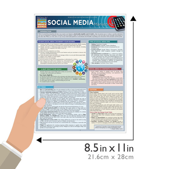 QuickStudy | Social Media Marketing Laminated Reference Guide