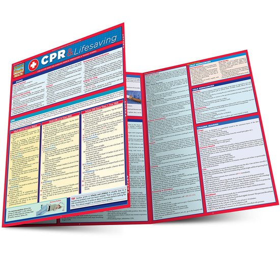 QuickStudy | CPR & Lifesaving Laminated Reference Guide