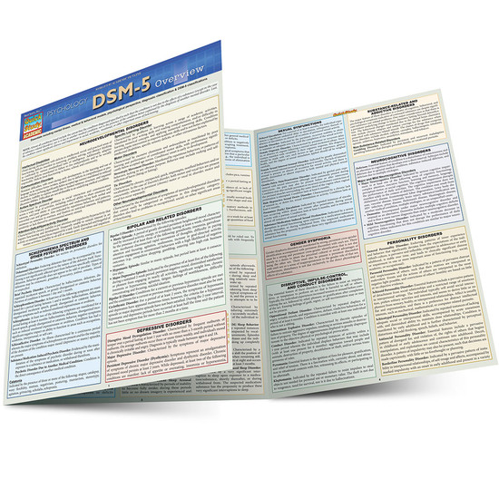 QuickStudy | DSM-5 Overview Laminated Study Guide