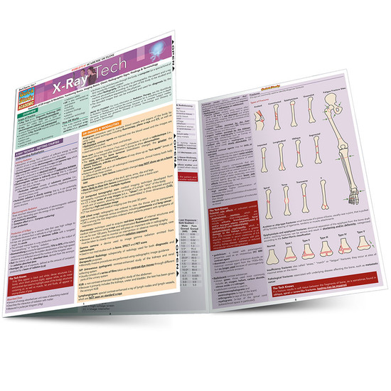 QuickStudy | X-Ray Tech Laminated Study Guide
