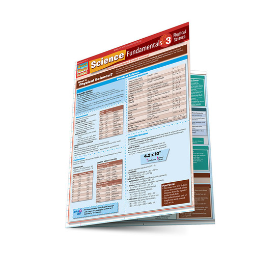 QuickStudy   Science Fundamentals 3: Physical Science Laminated Study Guide