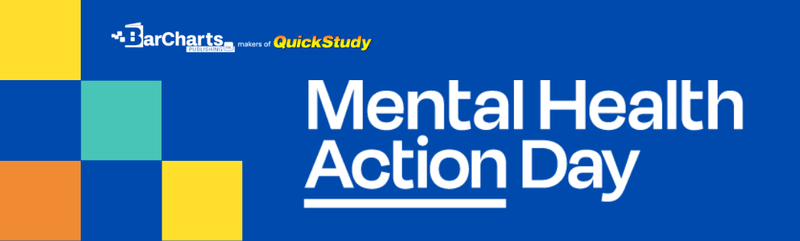 Mental Health Action Day & BarCharts Publishing