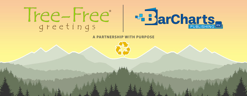 Tree-Free Greetings & BarCharts Publishing Inc. Form Partnership