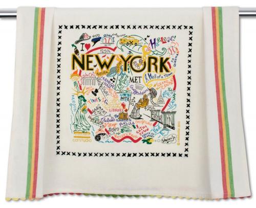 NYC Power Breakfast Basket - Towel