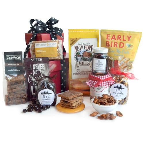 NYC Power Breakfast Gourmet Gift Basket