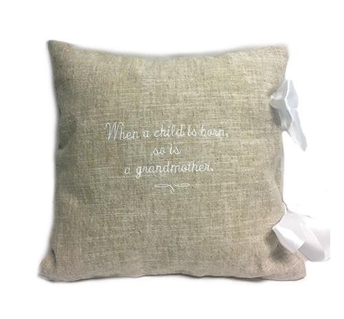Grandmother Pillow - Willow