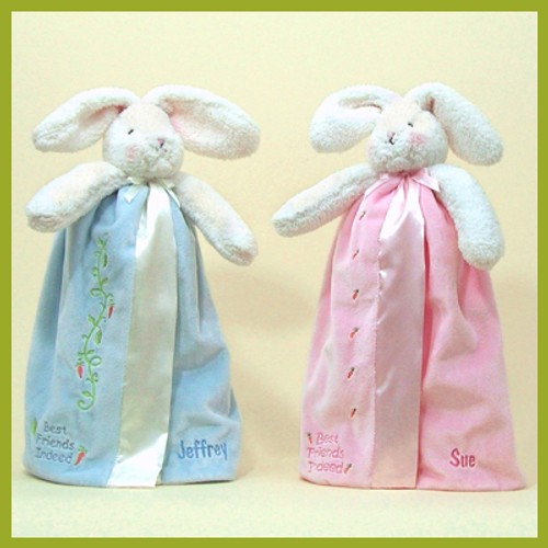 Sweet Personalized Bunny Lovey