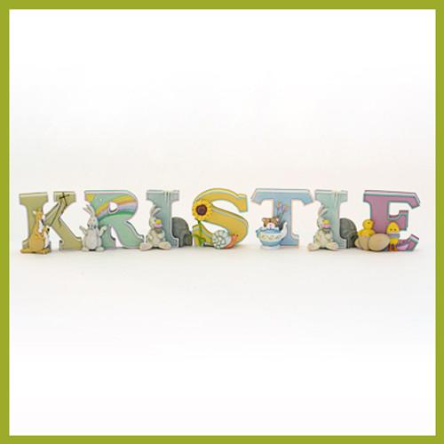 Sweet Resin Alphabet Letters