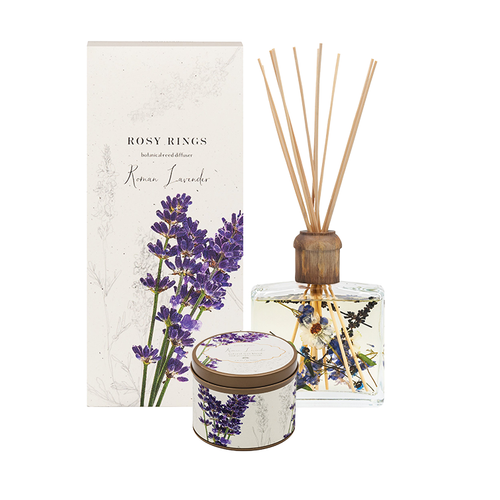 Lavender Candle and Diffuser