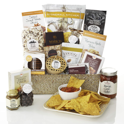 The Big Snack Attack Gourmet Gift Basket