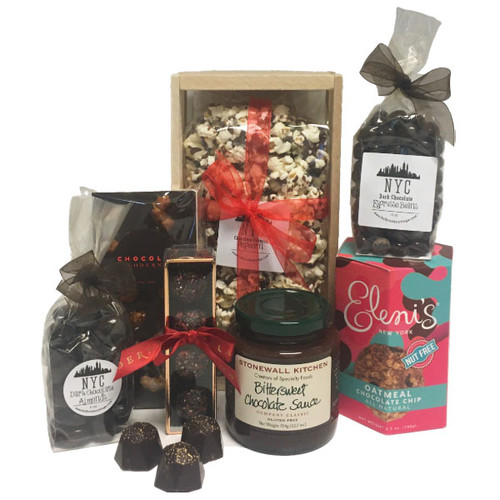 New York City inspired gourmet gift crate