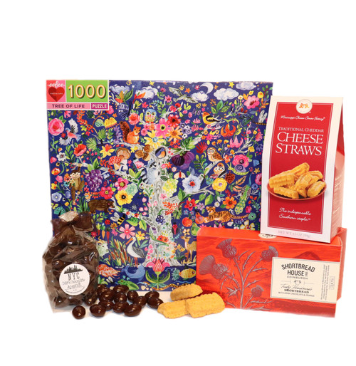 A Tree of Life Puzzle and Treats