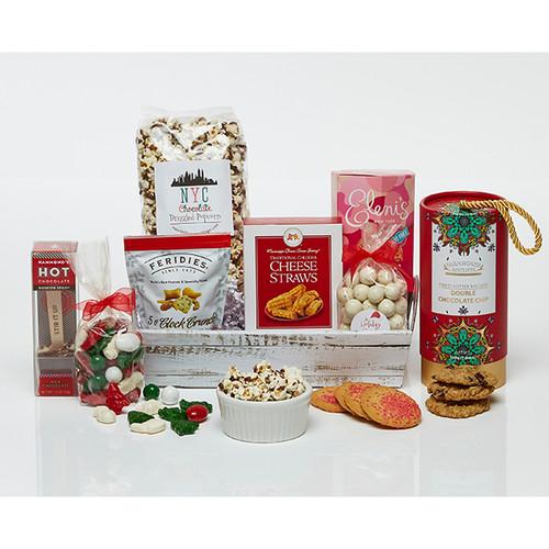 Happy Holidays Gourmet Treat Gift