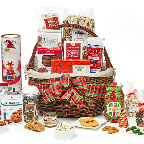 Holiday Party Time Gift Basket