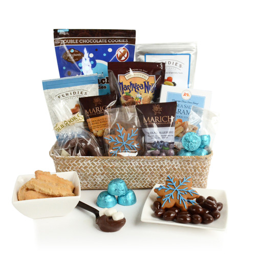 Winter Celebrations Gourmet Food Gift Basket