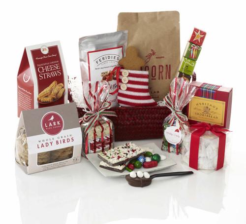 Sparkling Christmas Gems Gift Basket
