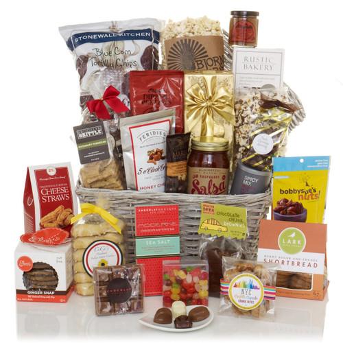 Crowd Pleaser Gourmet Food Gift Basket