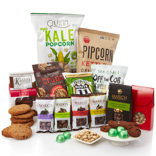 Office Crowd's Quench Craving Gourmet Gift Basket