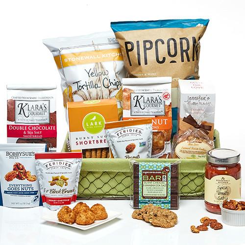 Everyone's Favorite Gourmet Food Gift Basket
