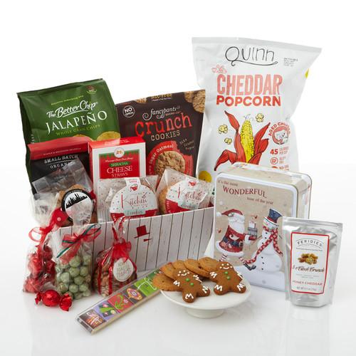 Artisanal Snacker Holiday Gift Basket