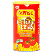 Wise Potato Chips Tomato Ketchup Flavor   威士 蕃茄醬風味薯片(罐裝) 100g