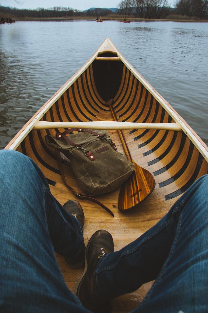 Baboosic Canoe - 14' Solo