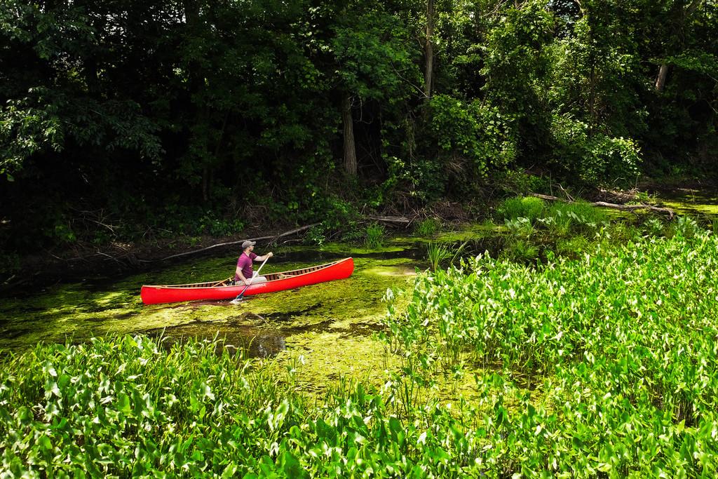 Baboosic - Composite Solo Canoe