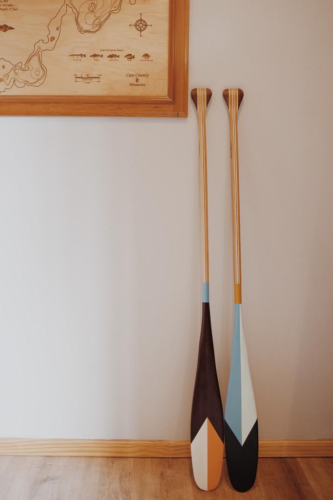 Decorative Canoe Paddles