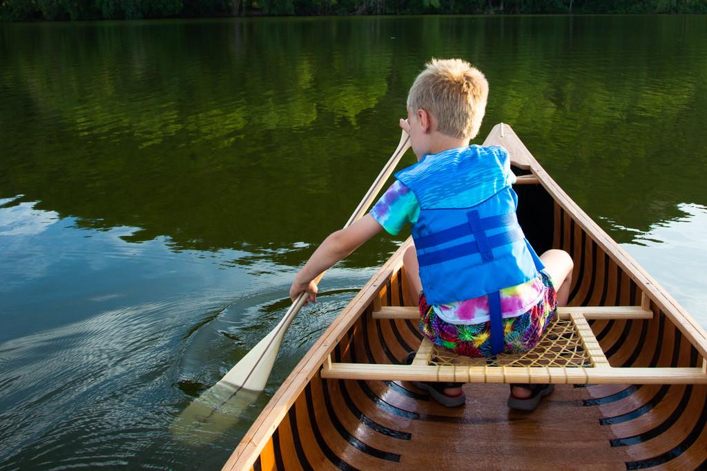 Beginner Canoe Paddle