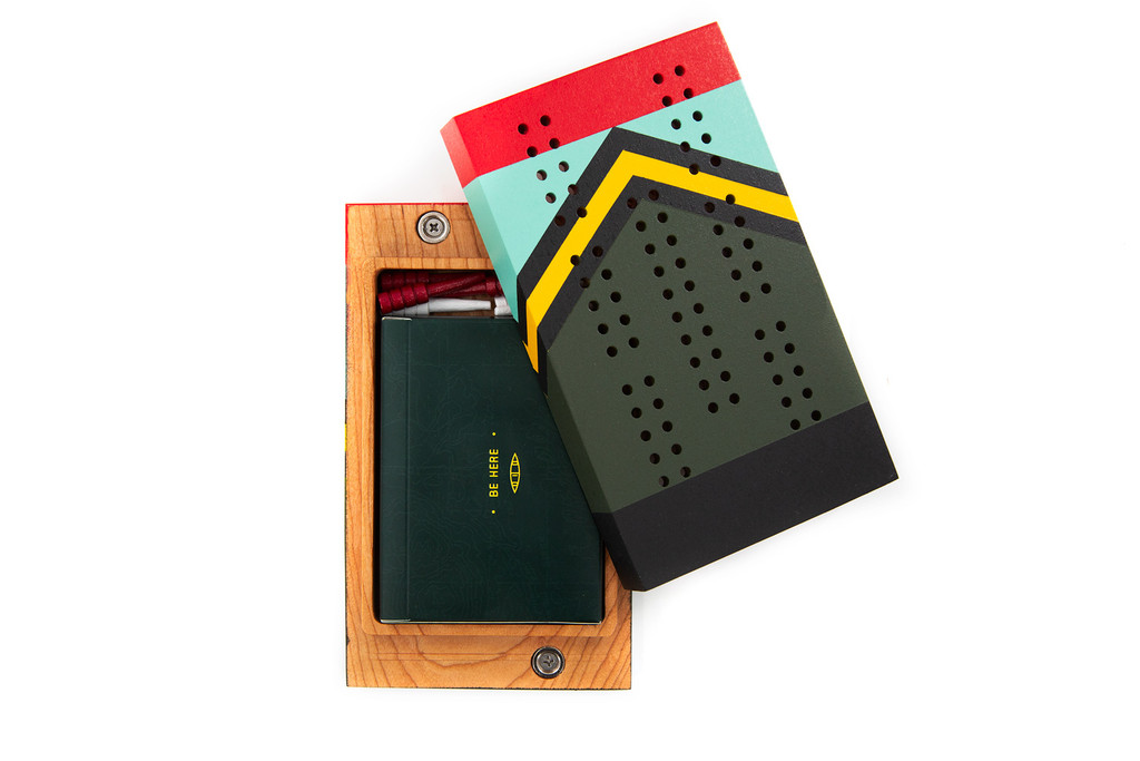 Scout Travel Cribbage Board