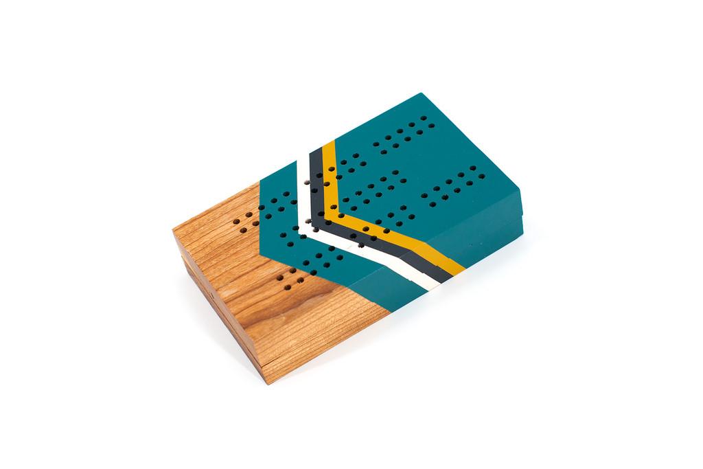Mescousin Travel Cribbage Board