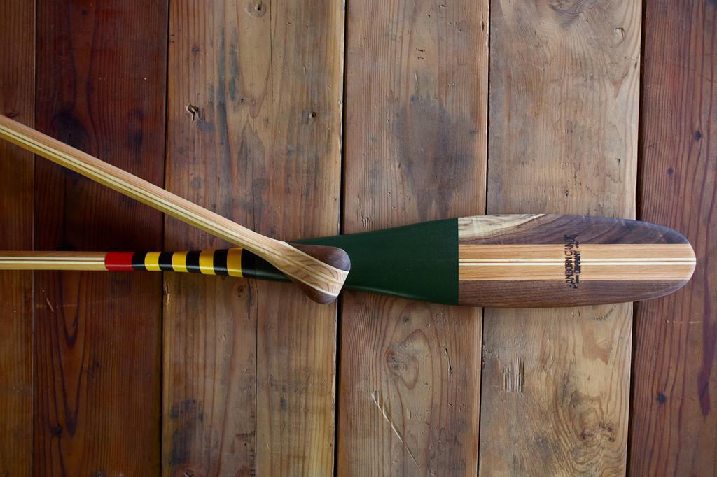 Mackinac Painted Paddle - Sanborn Canoe Company