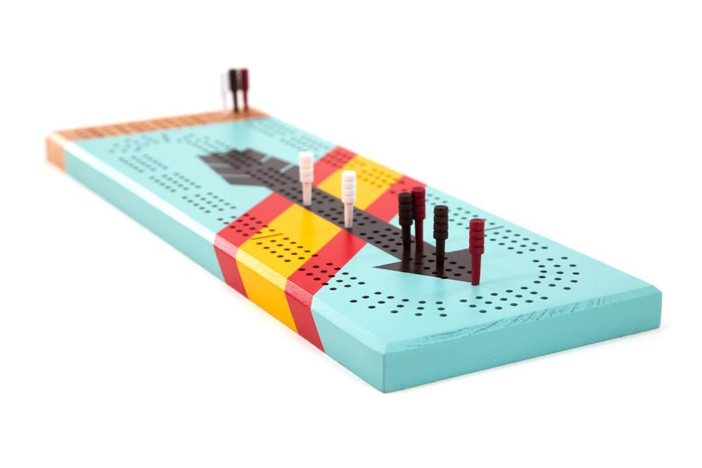 West Cribbage Board