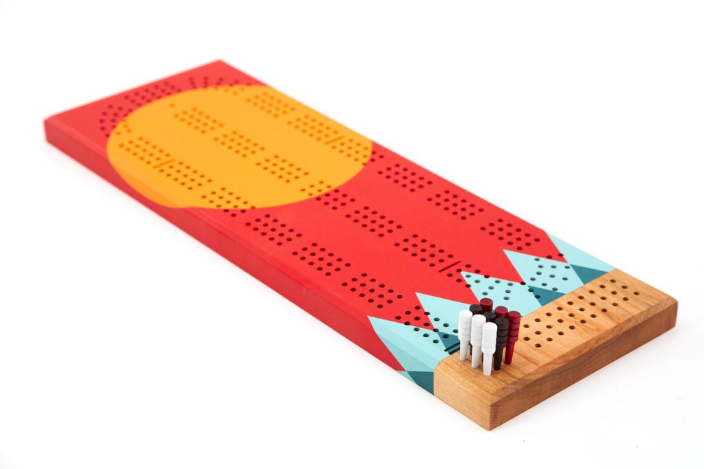 Tettegouche Cribbage Board