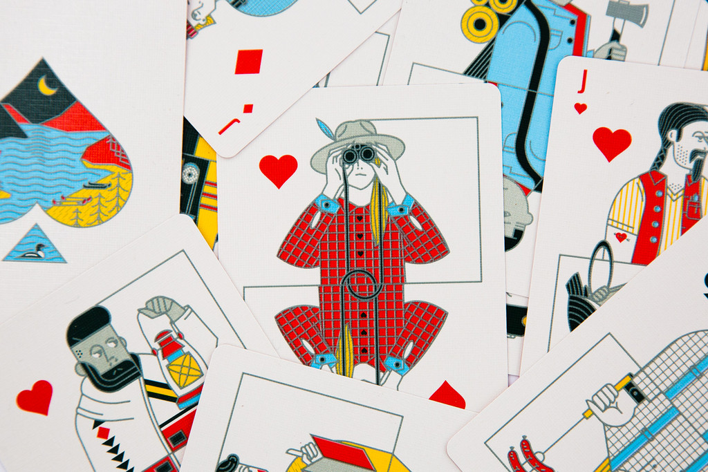 Outdoor-Inspired Custom Playing Cards