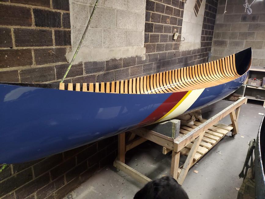 Building A Canoe - Step 2