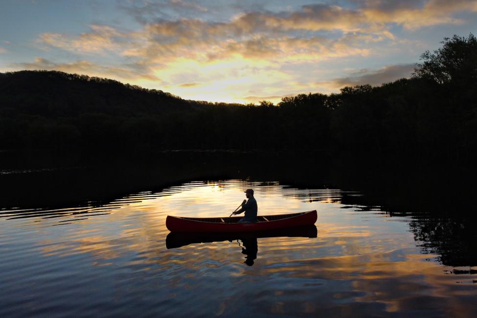 Sunrise Canoe Paddle