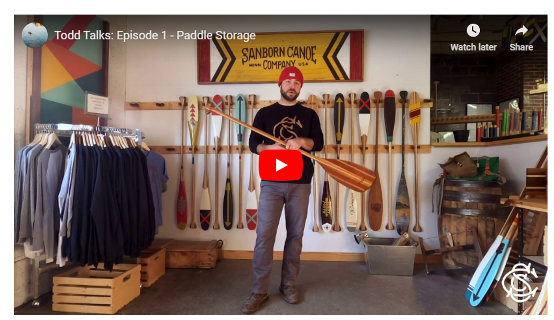 Todd Talks: Episode 1 - Paddle Storage