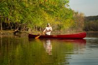 Tennessean Tandem/Solo Canoe - 14.5'