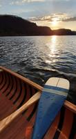 Sanborn Canoe Co Primary Paddle - Blue - Inexpensive Canoe paddle