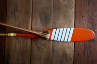 Billy McGee Painted Paddle - Cabin Decor