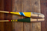 Mackinac And Minnetonka Painted paddles - Sanborn Canoe Company