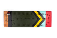 Scout Painted Cribbage Board