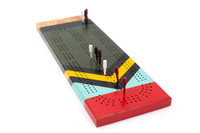 Scout Cribbage Board
