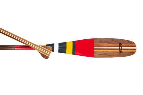 Mufferaw - Painted Artisan Canoe Paddle
