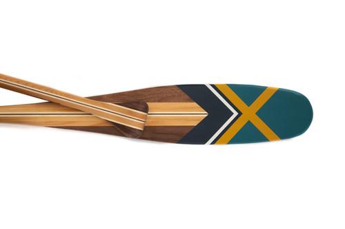 Galena painted canoe paddle | Sanborn Canoe Co