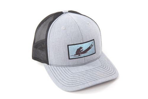 Canoeing Bear Trucker Hat